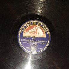 Discos de pizarra: DISCOS 78 RPM - LOLA FLORES - PACO AGUILERA - GUITARRA - BULERÍAS - TANGUILLO - PIZARRA. Lote 119521647