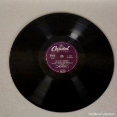 Discos de pizarra: DISCO DE PIZARRA DE RAY ANTHONY - IN THE MOOD. (BRD). Lote 119550915