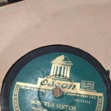 Discos de pizarra: LP DISCO DE PIZARRA ORQUESTA MOROCCO SON TUS OJITOS BUEN ESTADO . Lote 119926095