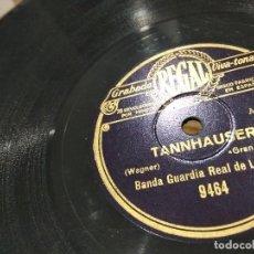 Discos de pizarra: LP DISCO DE PIZARRA BANDA GUARDIA REAL DE LONDRES TANNHAUSER /EL PROFETA BUEN ESTADO . Lote 119936727