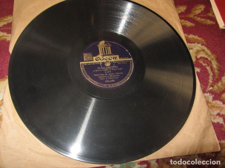 Discos de pizarra: Cuento Pulgarcito Disco de Pizarra - Odeon - - Foto 3 - 120541211
