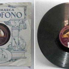 Discos de pizarra: LAS GOLONDRINAS. - EMILIO SAGI-BARBA. - D-PIZARRA-0211. Lote 121018539