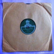 Discos de pizarra: ANGELILLO. VERDIALES + MEDIA GRANADINA. GUITARRA DE MIGUEL BORRULL. PIZARRA. Lote 121311599