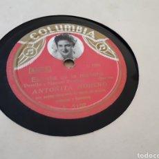 Discos de pizarra: DISCO DE PIZARRA ANTOÑITA MORENO. Lote 121520982