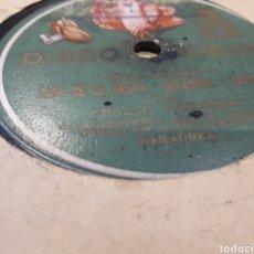 Discos de pizarra: DISCO DE PIZARRA JOTA MIGUEL ASSO Y CECILIO NAVARRO. Lote 121535832