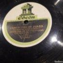 Discos de pizarra: DISCO DE PIZARRA JUSTO ROYO. Lote 121536810