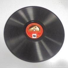 Discos de pizarra: DISCO DE GRAMOFONO. LA VOZ DE SU AMO. VALS EN LA BEMOL MAYOR / IMPROMPTU EN LA BEMOL MAYOR. Lote 121964451