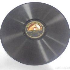 Discos de pizarra: DISCO DE GRAMOFONO. LA VOZ DE SU AMO. SONATA EN DO SOSTENIDO MENOR. Lote 121964739