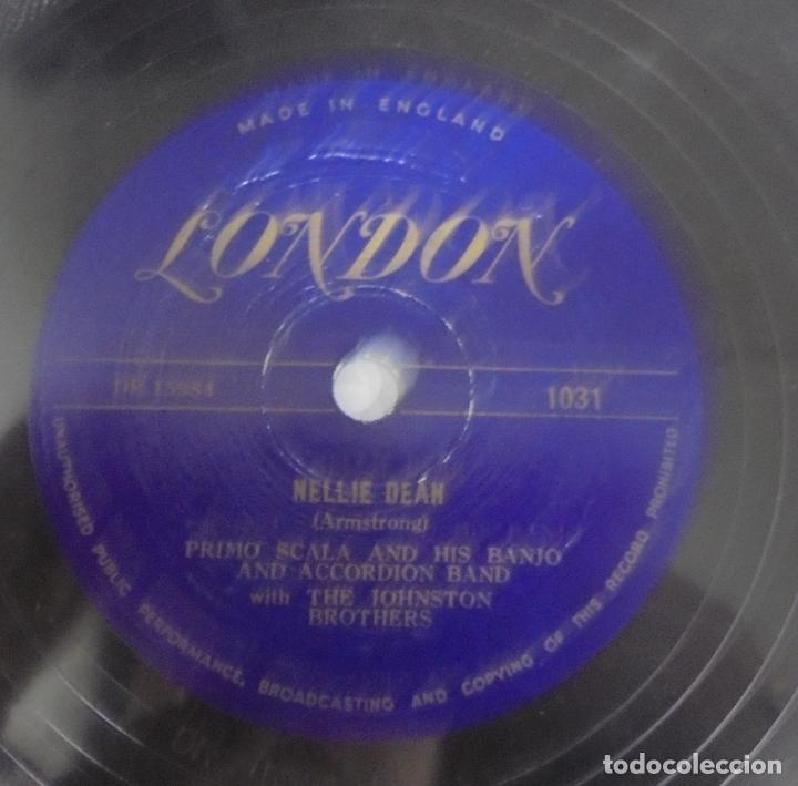 Discos de pizarra: DISCO DE GRAMOFONO. NELLIE DEAN / I DO LIKE TO BE BESIDE THE SEASIDE. - Foto 2 - 121965235