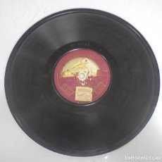 Discos de pizarra: DISCO DE GRAMOFONO. LA VOZ DE SU AMO. VIVA MADRID (MARTI) / OREJON. VER FOTOS. Lote 121965643