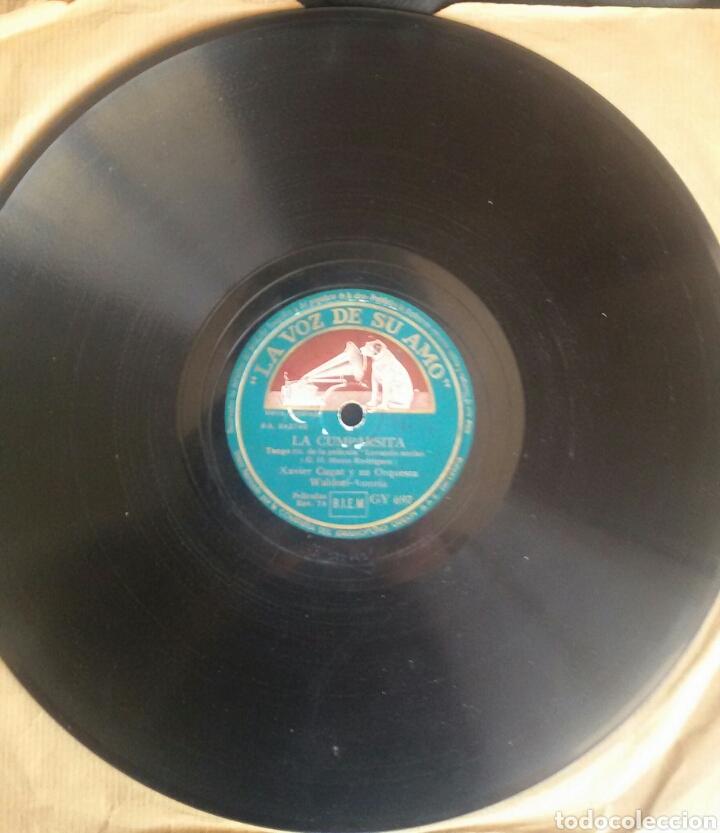 LA CUMPARSITA - XAVIER CUGAT Y SU ORQUESTA WALDORF ASTORIA. PIZARRA. LA VOZ DE SU AMO. GY 697 (Música - Discos - Pizarra - Bandas Sonoras y Actores )