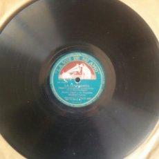 Discos de pizarra: LA CUMPARSITA - XAVIER CUGAT Y SU ORQUESTA WALDORF ASTORIA. PIZARRA. LA VOZ DE SU AMO. GY 697. Lote 122086963
