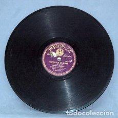 Discos de pizarra: CANDELITA - CARMELILLA DE GRANA. - ESTRELLITA CASTRO. - D-PIZARRA-0285. Lote 122089927