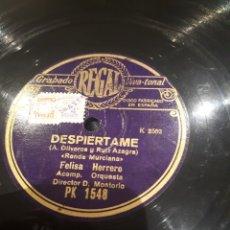 Discos de pizarra: DISCO DE PIZARRA JOTAS VALENCIANAS. Lote 122136826