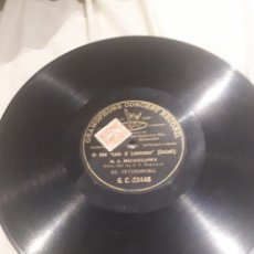Discos de pizarra: M. A. MICHAILOWA DISCO DE PIZARRA. Lote 122273648