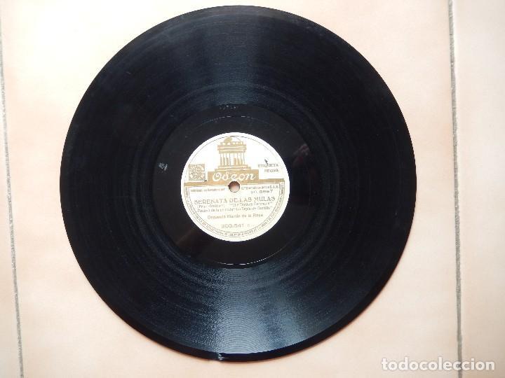 Discos de pizarra: SERENATA DE LAS MULAS (FRIMI-STOTHART) / CARAVANA (DUKE ELLINGTON)FOXTROT ORQUESTA MARTIN DE LA ROSA - Foto 4 - 122278971