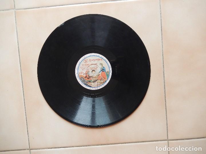 Discos de pizarra: ANTIGUO Y RARO DISCO DE GRAMOFONO DEL CUENTO EL ENANO SALTARIN ORIGINAL DE LOS AÑOS 1930-40 - Foto 2 - 122281487