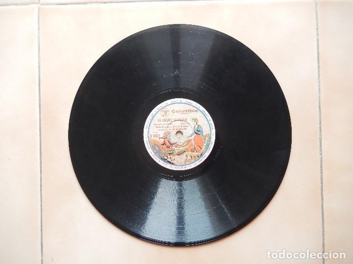 Discos de pizarra: ANTIGUO Y RARO DISCO DE GRAMOFONO DEL CUENTO EL ENANO SALTARIN ORIGINAL DE LOS AÑOS 1930-40 - Foto 5 - 122281487
