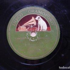 Discos de pizarra: ORQUESTA LEO REISMAN/ORQUESTA RAY NOBLE - EL VALS DE LAS SOMBRAS/CANCIÓN DE LAS VAMPIRESAS. Lote 122282855