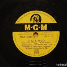 Discos de pizarra: HANS SOMMER: ADORACION + HI-LILI HI-LO - DISCO DE PIZARRA MGM. Lote 122283291