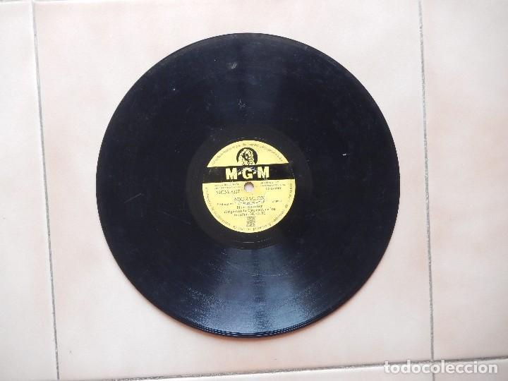 Discos de pizarra: HANS SOMMER: ADORACION + HI-LILI HI-LO - DISCO DE PIZARRA MGM - Foto 4 - 122283291