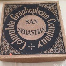 Discos de pizarra: GRAN CAJA DISCOS GRAMOLA.. Lote 122819007