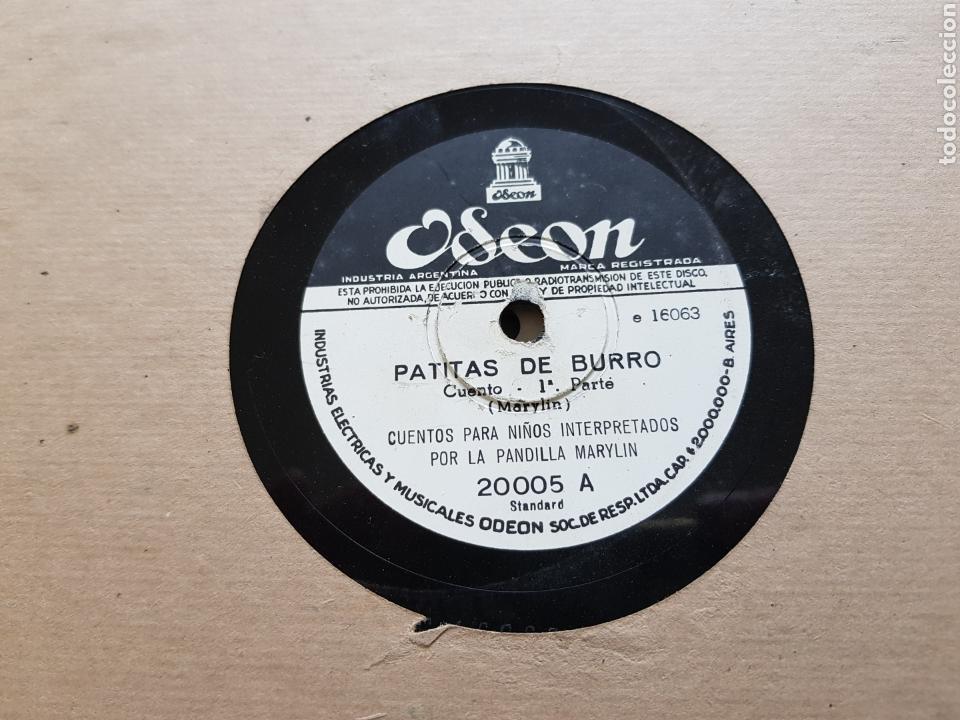 Discos de pizarra: Cuentos para niños antiguos raros 4 discos pizarra - Foto 2 - 122883299