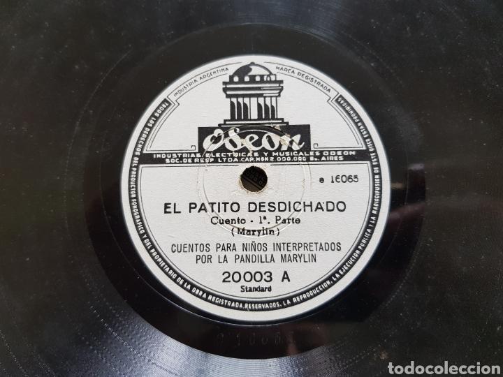 Discos de pizarra: Cuentos para niños antiguos raros 4 discos pizarra - Foto 3 - 122883299