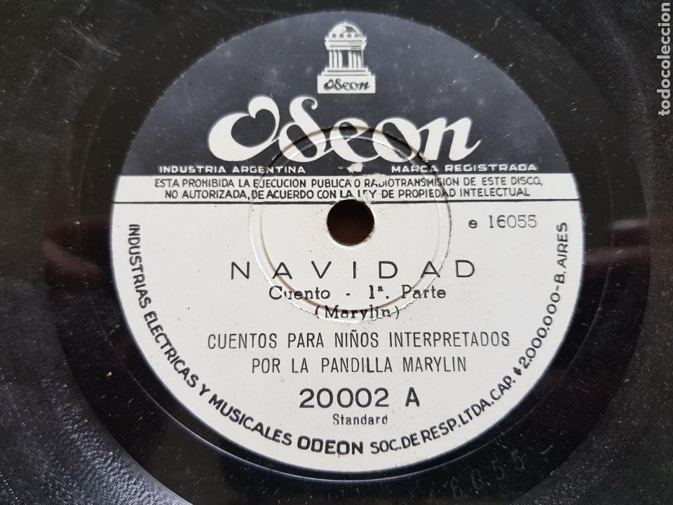Discos de pizarra: Cuentos para niños antiguos raros 4 discos pizarra - Foto 5 - 122883299