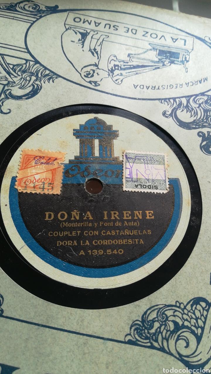 Discos de pizarra: Fandanguillo de Almería. Dora la cordobesa - Foto 3 - 124263558