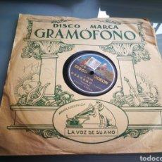 Discos de pizarra: GRANADERO. PASO DOBLE. LAPIEDRA.. Lote 124288503