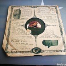 Discos de pizarra: LA PICARA NEURASTEMICA. CARMEN FLORES. Lote 124296726