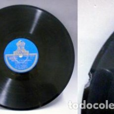 Discos de pizarra: MEDIA GRANADINA - SEGUIDILLAS. - MANUEL VALLEJO / GUITARRA: MIGUEL BORRUL. - D-PIZARRA-0315. Lote 125278515