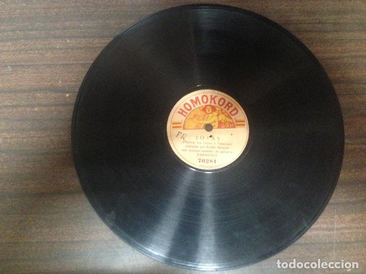Discos de pizarra: ANTIGUO DISCO PIZARRA JOTAS DE RONDA JOTAS POR CECILIO NAVARRO - Foto 2 - 125312759