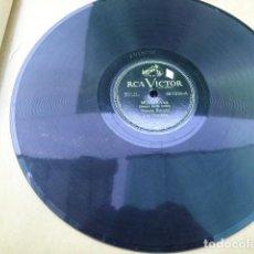 Discos de pizarra: VICENTE BIANCHI Y SU ORQUESTA. AL PIE DEL MISTI - MELGAR. RCA VICTOR. 90-1216. CHILE.. Lote 125369499