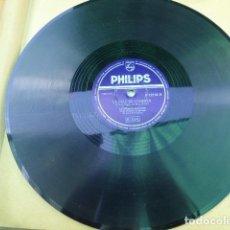 Discos de pizarra: CATHERINE SAUVAGE. LA FILLE DE LONDRES - PARIS CANAILLE. PHILIPS. P 72148 H.. Lote 125376255