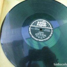 Discos de pizarra: EDDY MARTINEZ. FUI ENGAÑADO - CHIQUITA. SONORADIO. 1904. PERU.. Lote 125377323