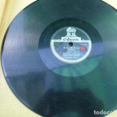 Discos de pizarra: DIRCINHA BATISTA / FERNANDO TORRES. AL RITTMO DE LA VIDA - SILVERIO. ODEON. A-15438. PERU.. Lote 125377635