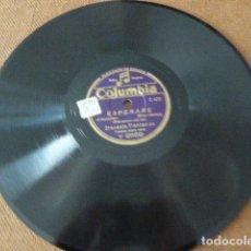 Discos de pizarra: ORQUESTA PLANTACION. KUKY - ESPERARE. COLUMBIA. V 2689.. Lote 125665839