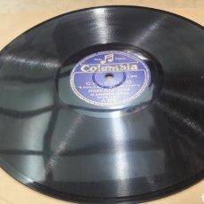 Discos de pizarra: DISCO PIZARRA COLUMBIA MARUJITA DIAZ LA CHAVALA DEL PORTILLO Y CALERITO SIN USAR. Lote 125691507