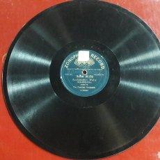 Discos de pizarra: DISCO PIZARRA THE PEERLESS ORCHESTRA WALZ ZONOPHONE RECORD. Lote 125850604