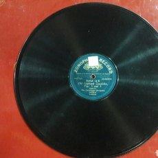 Discos de pizarra: DISCO PIZARRA THE CALEDONIAN ORCHESTRA FIG. 1 A 4 ZONOPHONE RECORD. Lote 125851315