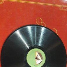 Discos de pizarra: DISCO PIZARRA LIANE HAID ORQUESTA GRAMOFONO. Lote 125853495
