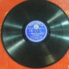 Discos de pizarra: DISCO PIZARRA EL FAVORITO DE LA GUARDIA PARLOPHON. Lote 125853712