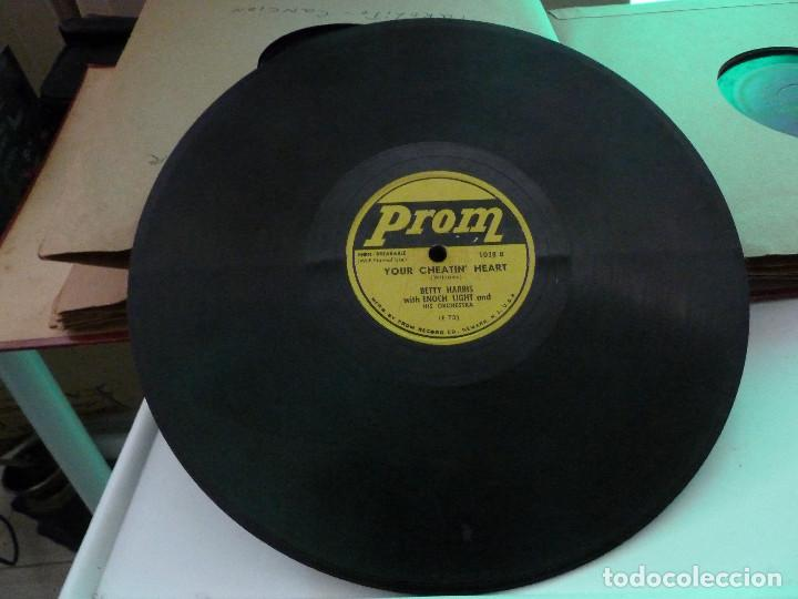 PROM RECORD - THE DOGGIE IN THE WINDOW - YOUR CHEATIN HEART - MADE IN USA (Música - Discos - Pizarra - Solistas Melódicos y Bailables)
