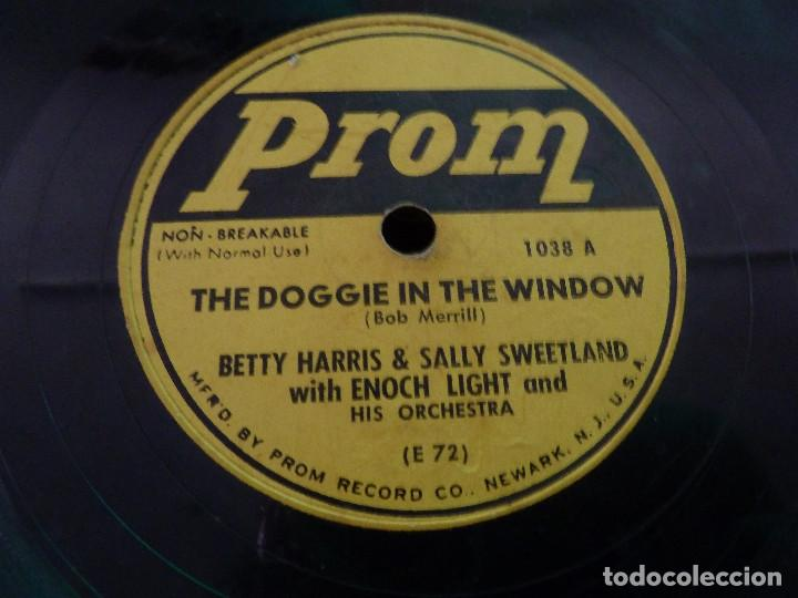 Discos de pizarra: PROM RECORD - THE DOGGIE IN THE WINDOW - YOUR CHEATIN HEART - MADE IN USA - Foto 4 - 125898983