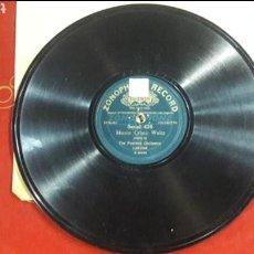 Discos de pizarra: DISCO PIZARRA THE PEERLESS ORCHESTRA SERIAL 439 WALTZ. Lote 125854724