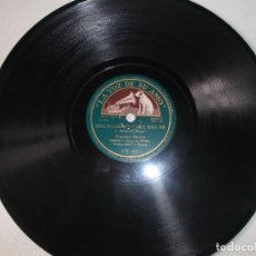 Discos de pizarra: ORQUESTA VILCHES. LA CALETA/ BULERIAS PARA BAILAR. LA VOZ DE SU AMO GY 406. PIZARRA 78 RPM. Lote 126337539