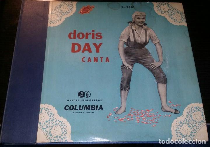 DISCOS 78 RPM - DORIS DAY - ALBUM - 3 DISCOS - ORQUESTA - FRANKIE LAINE - JAZZ - PIZARRA (Música - Discos - Pizarra - Jazz, Blues, R&B, Soul y Gospel)