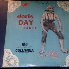 Discos de pizarra: DISCOS 78 RPM - DORIS DAY - ALBUM - 3 DISCOS - ORQUESTA - FRANKIE LAINE - JAZZ - PIZARRA. Lote 126842479